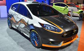 custom black light sts custom fiesta sts bring flare to ford sema booth autoguide com news