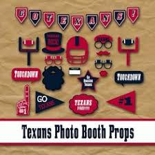 Photo Booth Houston Houston Texans Photo Booth Props And Party By Oldmarketcorner
