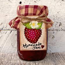 homemade jam label canning jar labels wood mason jar tag