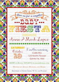 mexican baby shower invitations cloudinvitation