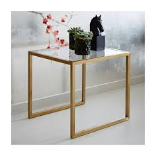 15 statement making gold side tables available online now u2014