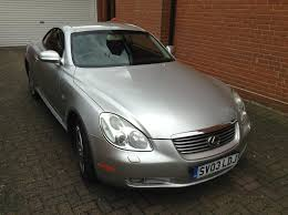 lexus dealers south yorkshire used 2003 lexus sc 430 for sale in essex pistonheads