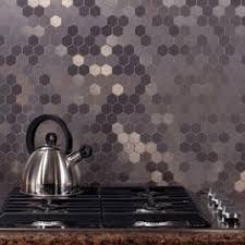 Metallic Tile Backsplash by Stainless Steel Tile Arabesque Lantern Mosaic Arabesque