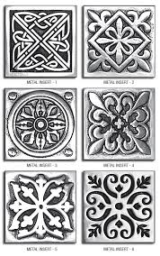 metal tiles for kitchen backsplash pewter metal insert accent backsplash tile kitchen 2x2