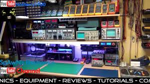 my electronics workbench updated and youtube trailer video youtube