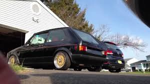 volkswagen rabbit custom 1983 volkswagen rabbit gti overview youtube