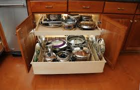 pull out racks for kitchen cabinets smart solutions for today s kitchens drawers breeze and small