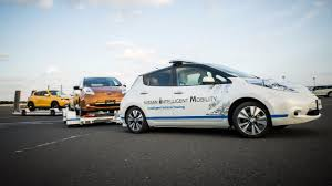nissan leaf india launch nissan leaf becomes autonomous tow vehicle