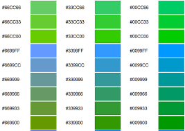 best green colors change colors on the leap cms hexadecimal colours reference