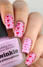 12 valentine u0027s day small heart nail artwork designs suggestions