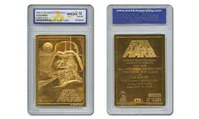 Star Wars Bathroom Accessories Star Wars Movie Poster 23kt Gold Cards Graded 10 Set Of 3 Groupon