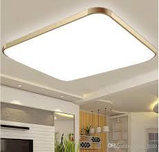 Led Kitchen Lights Ceiling   2018 dhl 2015modern led apple ceiling ligh square 15w 30cm led