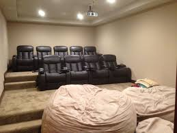home theater bean bag chairs hilltop mansion with stunning view of north vrbo