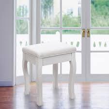Coiffeuse Design Pour Chambre by Rds50w Tabouret Pour Coiffeuse En Bois Blanc Avec Coussi Achat