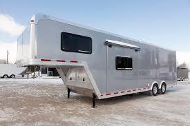 horse trailer living quarter floor plans quest premium living quarter modules atc trailers