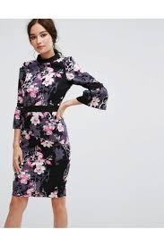 buy paper dolls printed dresses for women online fashiola co uk