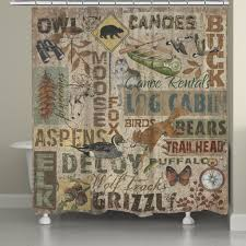 Shower Curtains Rustic Rustic Words Shower Curtain Laural Home