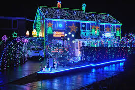 best christmas lights for house best blue christmas lights the peaceful symbol of using blue