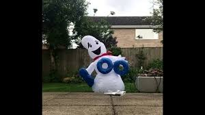 halloween inflatable ghost halloween inflatable setup boo ghost youtube