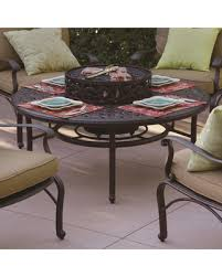 wood burning fire table amazing deal on series 80 aluminum wood burning fire pit table