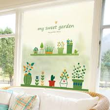 popular cute lovely wallpaper buy cheap cute lovely wallpaper lots home balcon decoration scrub glass window sticker removable perfect quality wallpaper decals cute lovely kids poster