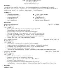 resume pdf template resume for cnc machinist machinist resumes sles free manual