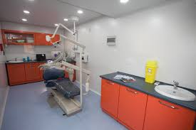 Dental Hospital Interior Design The Mobile Dental Clinic Ridt Research Trust