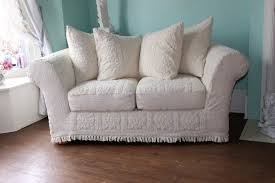 Cottage Chic Slipcovers by Sofas Center Shabby Chic Slipcovers For Sofas Chenille