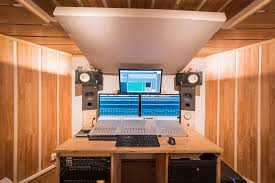 Recording Studio Desk Design by Recording Studio Orthogonalrecords