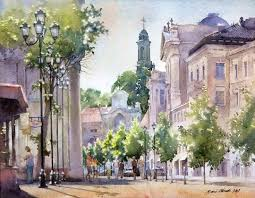 best 25 watercolor pictures ideas on pinterest bicycle art