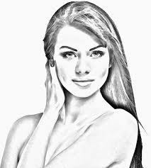 pencil sketch portraits 02 on behance