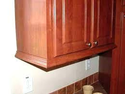 Kitchen Cabinet Moldings Kitchen Cabinet Moldings And Trim Kingdomrestoration