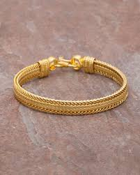 bracelet for buy men s bracelet with yellow gold plating online india voylla