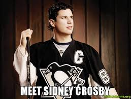 Sidney Crosby Memes - meet sidney crosby make a meme