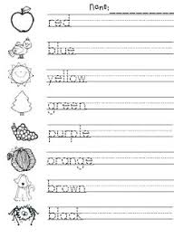 best 25 color words kindergarten ideas on pinterest color