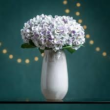 Faux Flowers Hydrangea Faux Flower Stem By Hannah Halfpennie