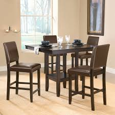 shop hillsdale furniture arcadia espresso dining set with square