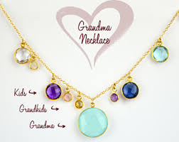 Grandparent Jewelry Gifts Gift For Grandmother