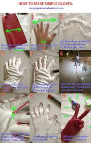 how to make simple gloves