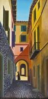 spanish houses by george callaghan irish art and photography