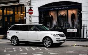 range rover autobiography cars desktop wallpapers range rover autobiography black long