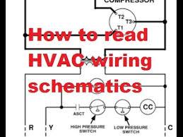 hvac reading air conditioner wiring schematics