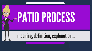 Patio Meaning In English What Is Patio Process What Does Patio Process Mean Patio Process