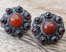 in earrings stud earrings vintage etsy uk
