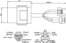 js250atv cdi unit motorcycle parts buy js250atv cdi unit