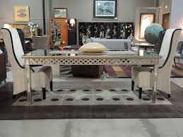 Mirrored Dining Room Furniture Dining Tables Inspiration Mirrored Dining Room Table On Mirrors