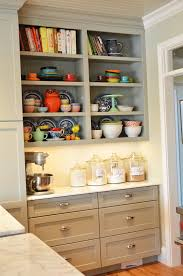 Open Shelf Kitchen Cabinet Ideas by Kitchen Minimalist Kitchen With Cabinet And Open Shelves With