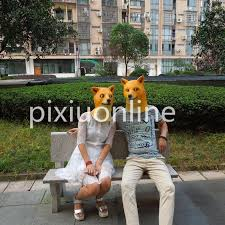 Doge Halloween Costume 1pc Ds27 Funny Head Doge 3d Latex Mask Funny Dog Head Latex Mask