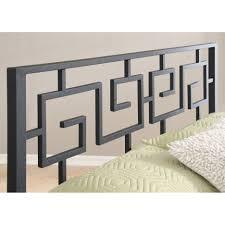 Greek Key Home Decor by Wood Headboards Wayfair Imogen Headboard Loversiq
