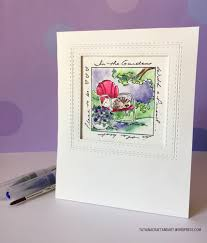 handmade watercolor cards watercolor card series ft impression sts tatiana craft